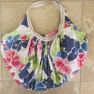 Hollister canvas large hobo